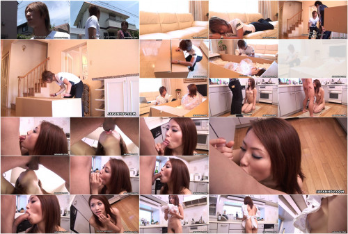 Perfect maid iori mizuki receives delivered in mail to please her taskmaster