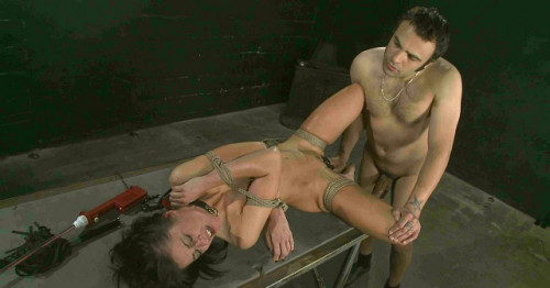Intense Anal Fucking for slave