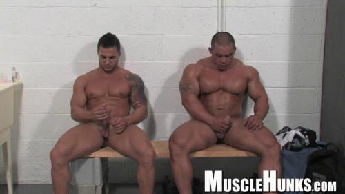 MH - Bill Baker, Diago El Potro - Wrestling Bodybuilders
