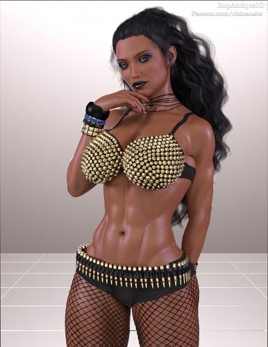 Impantique3D [shemale,futanaria,big breasts]