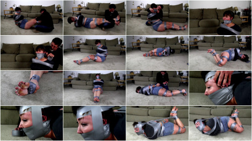CinchedandSecured - Riley Jane - Trapped in Tape