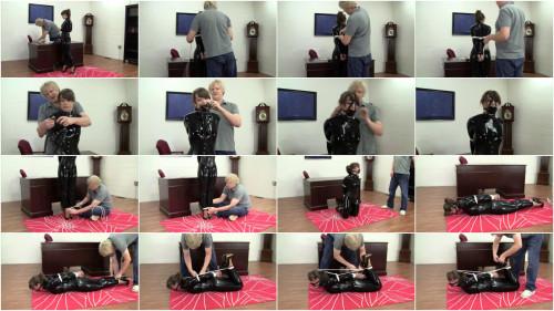 Elizabeth Andrews - Cat Suit Playtime With Mr Big Boss