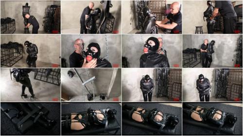 Super restraint bondage, domination and castigation for hawt model in latex