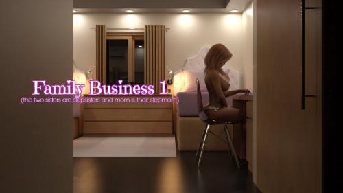 Family Business vol 1-4 [3D Porn Comic,western,masturbation]