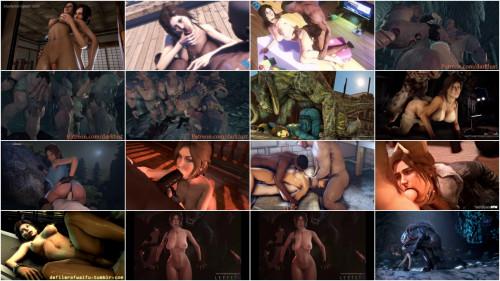 Best Animated Porn Compilation - Lara Croft Edition 1080p