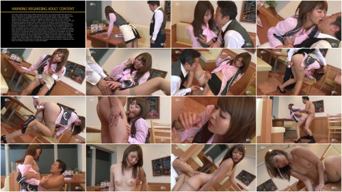 Aoi Shino (aka Midori, Megumi) - The Prey Waitress