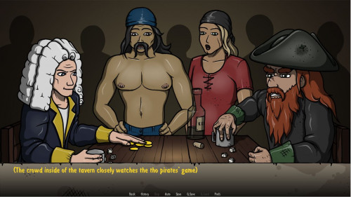 Pirates Golden Tits Version 0.13.14 [2021,All sex,Male Protagonist,Beautiful Ass]