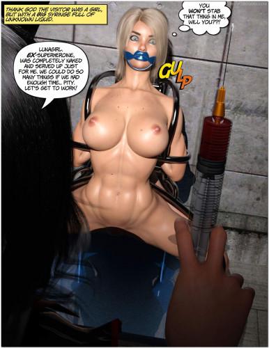DBComix - Lunagirl For Sale [bondage,mistress,rubber]