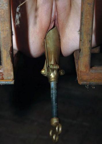 Vaginal speculum for hot bitches