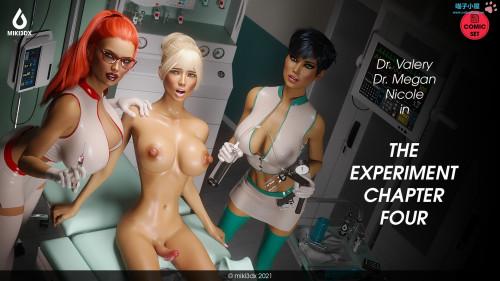 Miki3DX - The Experiment 4 [big breasts,futanaria,doctor-patient]