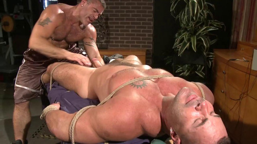 Musclebound - Muscle Play Part 2 - Trace Michaels & Adam Rogue