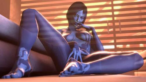 Cortana Assembly [Futanari,Lesbians,All Sex]