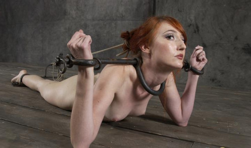 Fiery BDSM with redhead beauty.