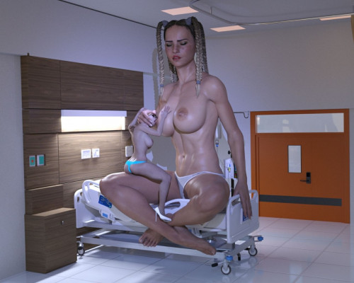 Confiado 3D Collection [big ass,giantess,shrinking]