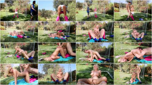 Kayla Kayden Busty Blonde  Ball Handling Lesson