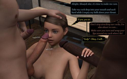 BottomAllTheWay - Adam the Bully Screws my Sister [blowjob,interracial,cumshot]