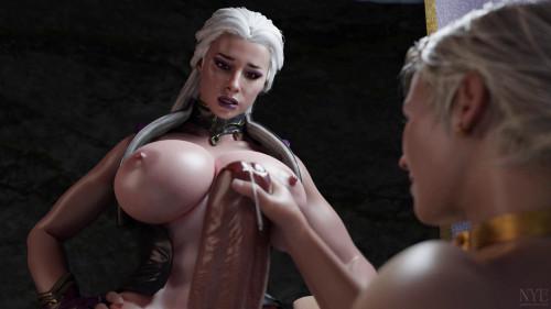 Sindel and Cassie [2020,3D,All sex]