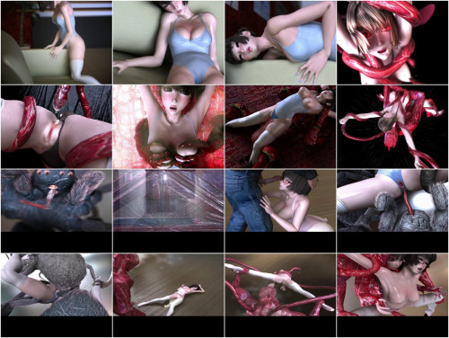 Ballerina Hina 2 - 3d HD Video