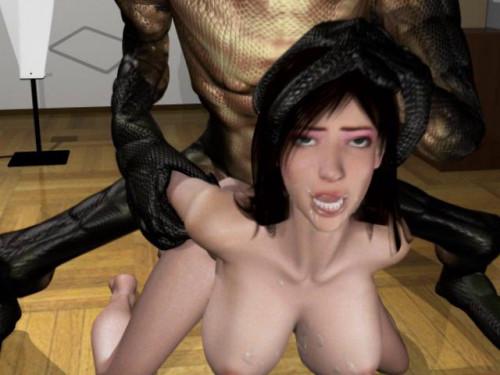 Beautiful Wife with Horrifying Snake Man [2016]