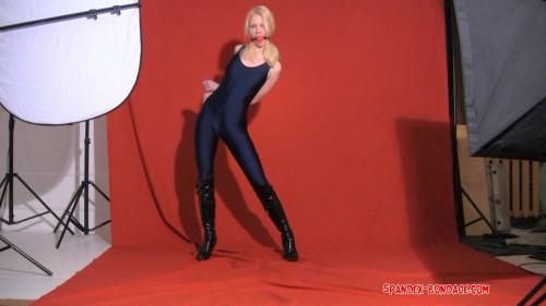 Cool Hot Excellent Perfect Nice Super Collection Of Spandex Bondage. Part 1. [2020,BDSM]