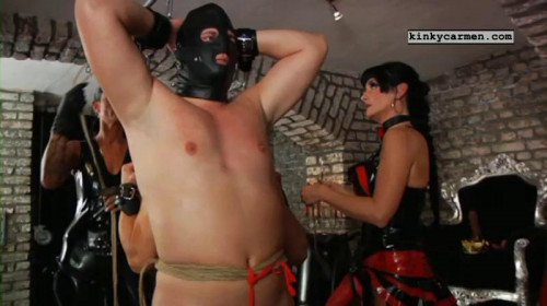 Nice Sweet Mega Perfect Vip Collection Of Kinky Carmen. Part 3. [2020,Femdom and Strapon]