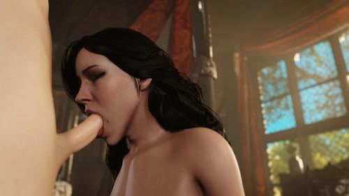 Yennefer Bj [2020,All sex,3D]