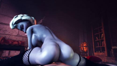 The Queen's Secret - Elsa Frozen [2020,Blowjob,Frozen,3DCG]