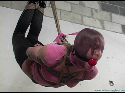 Crying out for help part 1 [2016,BDSM,Futile-Struggles,Girls,Rope,Zipties]