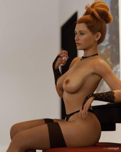 Maxsmeagol Erotic Artwork Collection [3D Porn Comic,sexy girl,didlo]