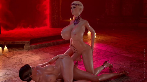 Sexy vampires with huge cocks [2017,Anal,Big Ass,Animation]