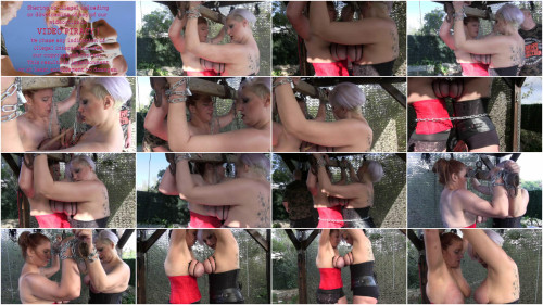 New Hard Outdoor Tit Adventure for Bettine and Nova Pink - Part 2