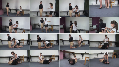 Kitty LaRouge and Elizabeth Andrews - Disciplined by Ms Andrews
