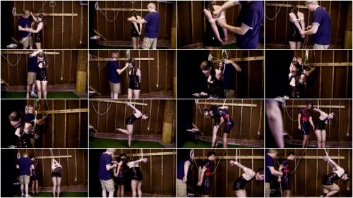 Belle Davis & Elizabeth Andrews - Latex joy in the warehouse
