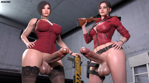 Method Mad's Render Collection [shemales,blowjob,futanaria]