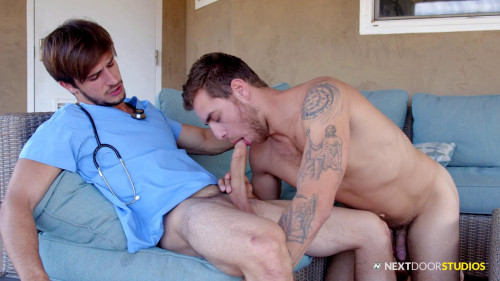 Hot Fucking of Donte Thick and Carter Woods (720p,1080p) [Gays,Donte Thick,Athletic,Tattoo,Brunette]