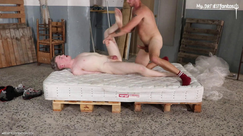 Wrapped Tied Meat [Gay BDSM,Piss,Toy,Anal]