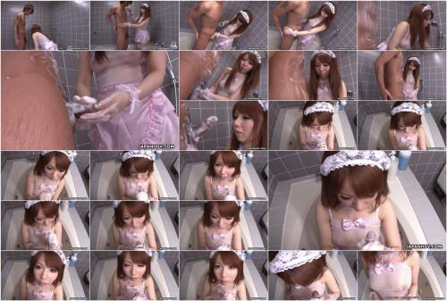 Momoko aiuchi gives a actually admirable cook jerking