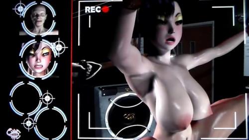 Virgin Fighter Training - Workout 1 [Robot Sex,Blowjob,Anal]