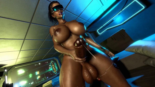Futa Cyborg [2021,All sex,3D]