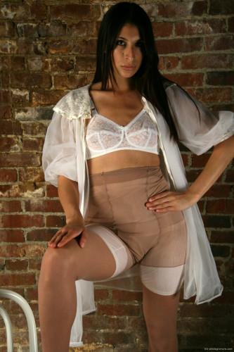 Vintage Underwear pantyhose pics set !! [Porn photo]