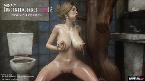 Jared999D - Wild Suzi's Uncontrollable Lust Part 1-3 [group sex,big black dick,hardcore]