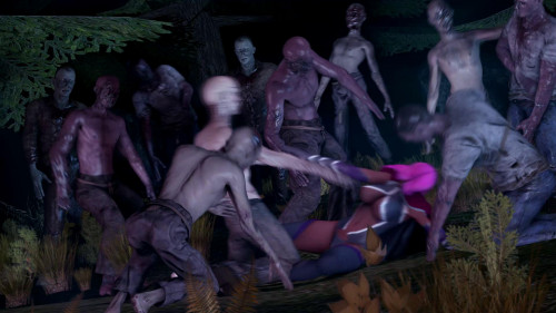 Outnumber world's orgy [2018,gangbang,monsters,zombie]