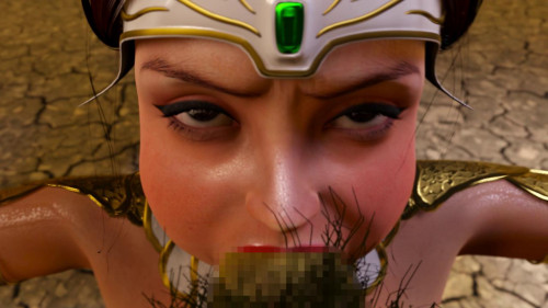 Bride of the Goblin / ゴブリンの花嫁 [2014,Big tits,Blowjob,Oral Cumshot]