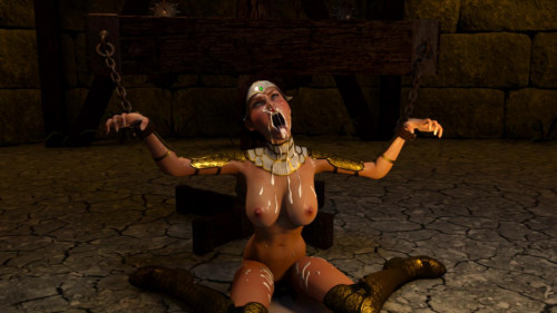 Bride of the Goblin [2014,Fantasy,Blowjob,Restraint]