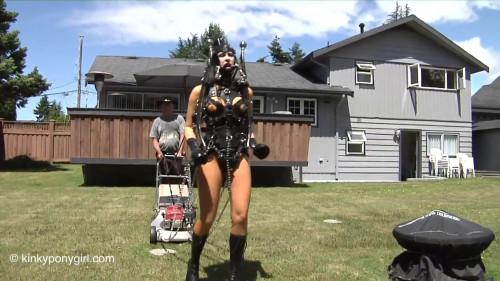 The Top Bdsm Porn KinkyPonygirl part 1 [BDSM Latex,Fetish,Ponygirl,Toys]