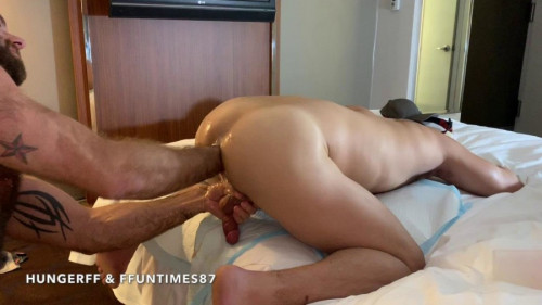 RFC - A Sleazy NYC Hotel Fist Fuck Part2 Deep Fist Fucking a Hot Little Pig