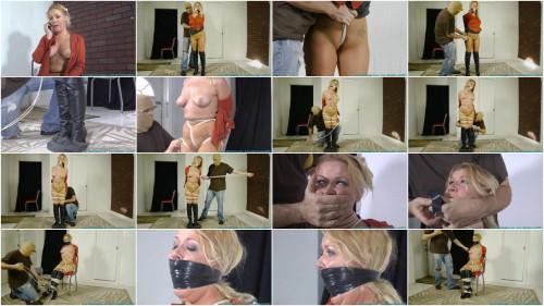 Whitney Explains How an Intruder Hogties Her Tight! - Part 1
