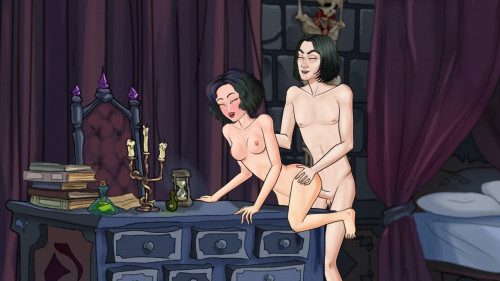 Wands And Witches Version 0.95 [2021,Milf,Animated,Oral sex]