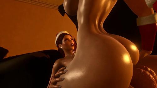Xmas Party [2020,3D,All sex]