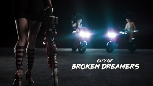 Broken Dreamers vol 8 [big tits,big ass,3D Porn Comic]
